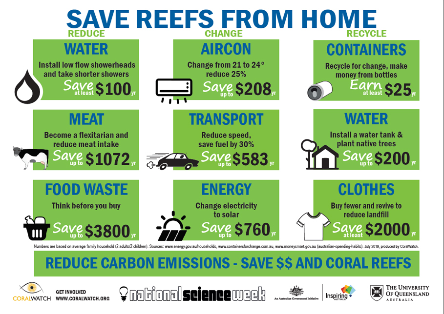Saving reefs from home updated July 2019